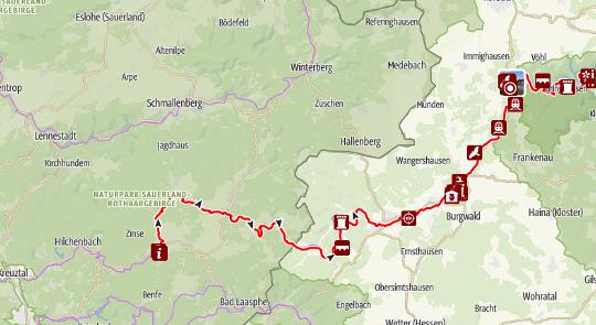 Von Gummersbach bis Dodenau