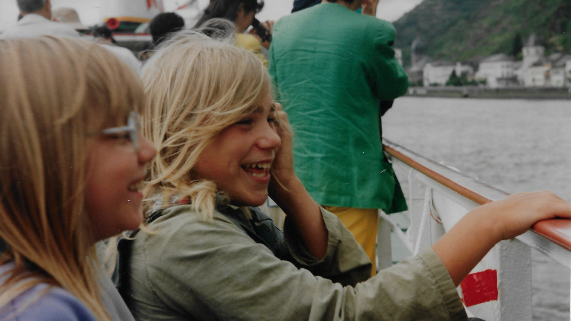 Rheintour 1993 – Heimfahrt