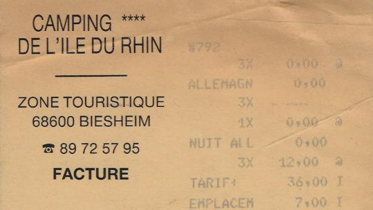 Rheintour 1993 – Montag, 19.7.