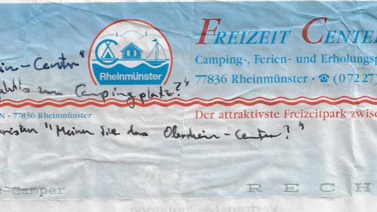 Rheintour 1993 – Donnertag, 22.7.